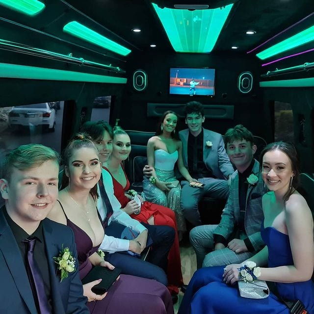 Prom party bus hire brisbane