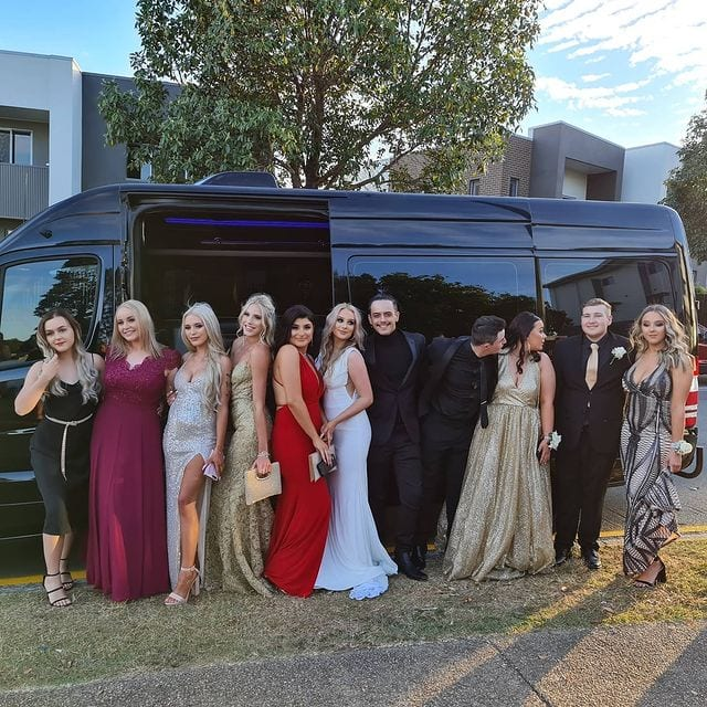 formal party bus hire brisbane